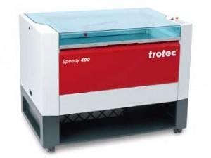 Speedy 400 laser engraving machine